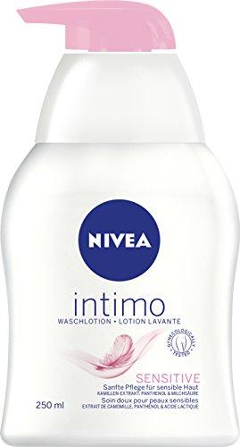 NIVEA Waschlotion für den Intimbereich, 250 ml Spender, Intimo Sensitive