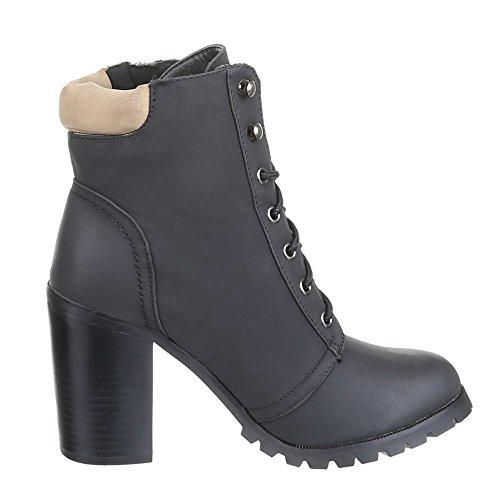 Chaussures, bottines eL508 Noir - Noir
