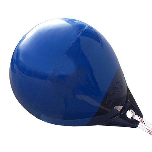 Kugelfender/Boje Typ A von Polyform U.S., vier Farben, unterschiedliche Größen (Blau, A-0 / Länge: 290 mm x ø 230 mm)