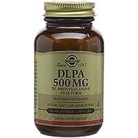 Solgar 500 mg DLPA DL-Phenylalanine Vegetable Capsules - 50 Capsules