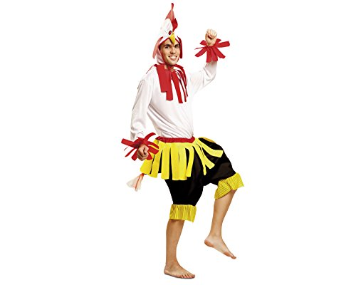Imagen de my other me  disfraz de gallo, talla m l viving costumes mom01336