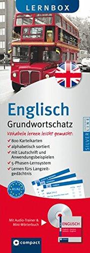 Preisvergleich Produktbild Englisch Grundwortschatz - Compact Lernbox: 800 Vokabel-Karteikarten, MP3-CD & Mini-Wörterbuch Englisch. Mit 5-Phasen-Lernsystem. Niveau A1 / A2