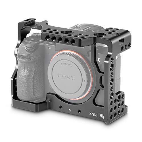 SMALLRIG A7R III Cage für Sony A7RIII / A7III mit Eingebaut Cold Shoe und Rosette Mount - 2087 -