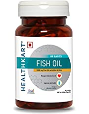 HealthKart Fish oil (1000 Omega 3 with 180 mg EPA & 120 mg