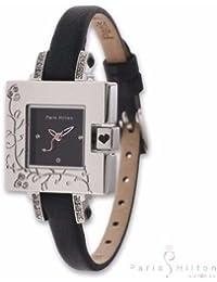 Paris Hilton Small Square PH138.4308.99 Reloj elegante para mujeres Momento Estelar de Diseño