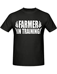 Bamboozled Accessories Farmer in Training Childrens T Shirt, Sizes 5-15 Years,Farming T Shirt