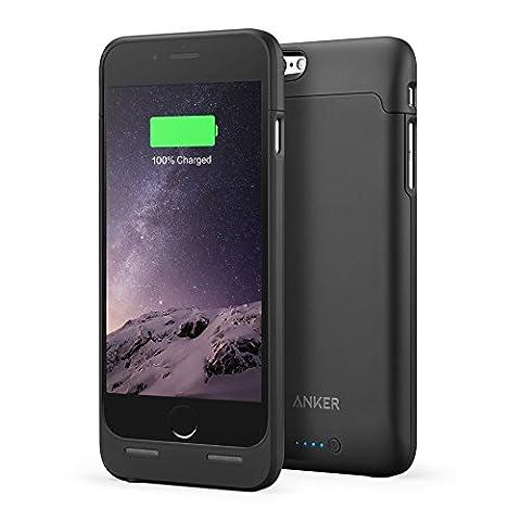 iPhone 6S Coque batterie [certifié Apple MFi] Anker Ultra fin Coque batterie étendue pour iPhone 6(2014)/iPhone 6S (2015) (11,9cm) avec 2850mAh Capacité/120% batterie supplémentaire