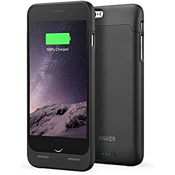 """Anker Coque batterie ultrafine [certifiée Apple MFi] pour iPhone 6(2014)/iPhone 6S (2015) (4.7"""") Capacité 2850mAh/Batterie de secours 120% (Noir)"""