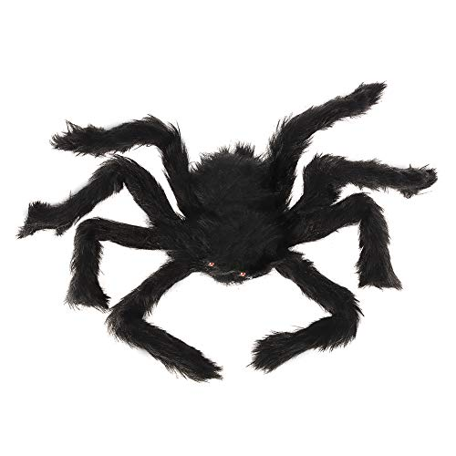 Spider Halloween Plush - Black - 50cm 19""