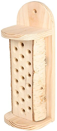 Abri pour abeilles en bois naturel onlywood 12x10x31cm