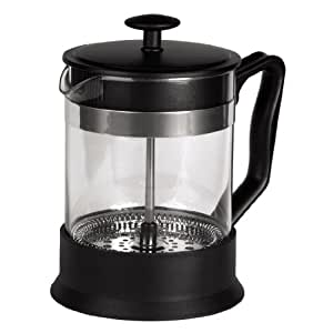 xavax kaffee french press aus glas kaffeebereiter 0 6 liter edelstahlfilter kaffeezubereiter. Black Bedroom Furniture Sets. Home Design Ideas