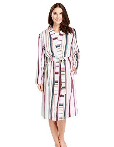... Women s Aqua Blue Floral Robe Loungewear Bath Dressing Gown. Féraud.  204 2289ac765