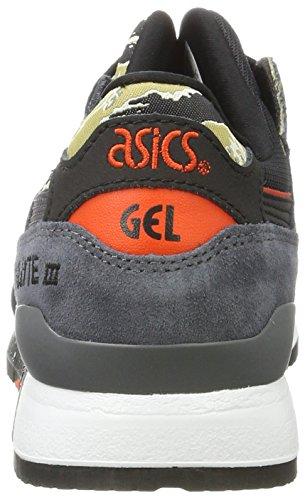 Asics Gel-Lyte III, Baskets Mixte Adulte Noir (Black/black)