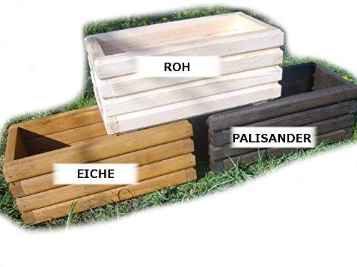 Kena de d 2 Garden Jardinière haute qualité Jardinière en bois (Longueur : 60 cm, Palissandre)