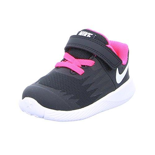 huge discount 19024 59587 Nike Unisex-Kinder Star Runner (TDV) Traillaufschuhe, Schwarz (Black White