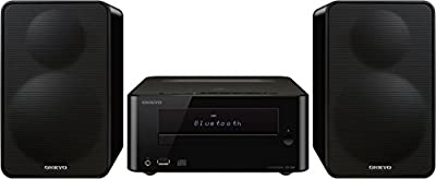Onkyo CS-265 (B) système compact CD Salut-Fi (MP3, USB pour Apple iPod / iPhone / iPad, NFC, Bluetooth, RDS) noir de ONKYO