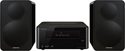 Onkyo CS-265-B - Sistema mini (Bluetooth, NFC, USB frontal) color negro
