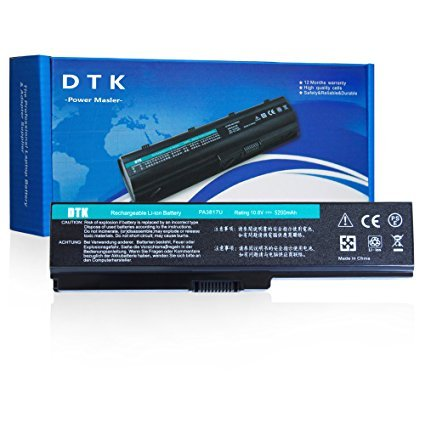 Dtk® New High Performance Laptop Battery for Toshiba Pa3817u-1brs Pa3819u-1brs