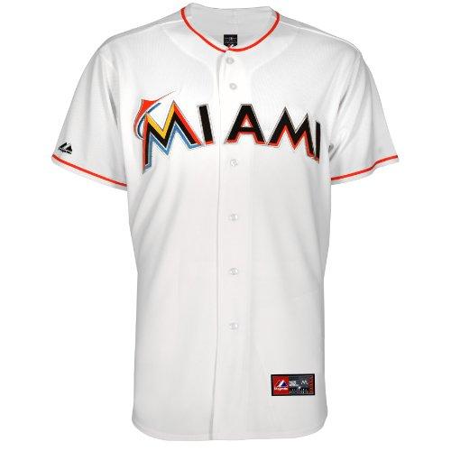 MLB Baseball Trikot/Jersey MIAMI MARLINS white in XXL (2XL)