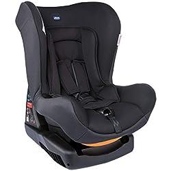 Chicco Chicco Cosmos - Silla de coche grupo 0+1 (0-18kg) con reductor, color negro (Jet Black) - Silla de coche grupo 0+/1, Color Jet Black