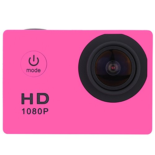 HROIJSL Wasserdichter voller HD 1080P Sport-Action-Kamera DVR Cam DV Video Camcorder BK Ultra 4K WiFi YE 720P Max 2.4 inch LCD spiegelreflex Bluetooth Mini Display Sensor Fach kostenlose