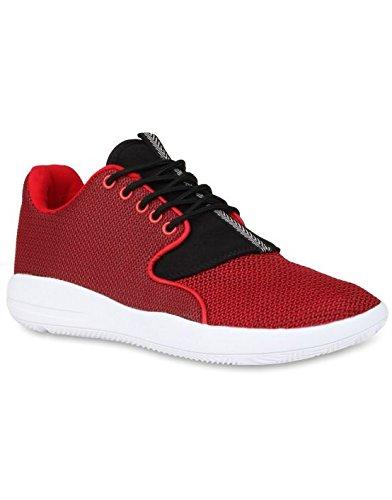 Cultz - Basket pas cher homme Cultz 924 Rouge Rouge