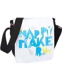 Poodlebags, young Art - slogan - ritsch ratsch small Happy - 3YA0312RRSHAPB, Unisex - Kinder Messengerbags, 17 x 6 x 19 cm (B x H x T)