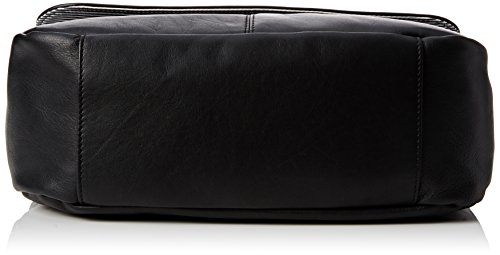 Timberland Tb0m5250, Borsa a Tracolla Donna, 13.5x23x34.5 cm (W x H x L) Nero (Nearly Black)