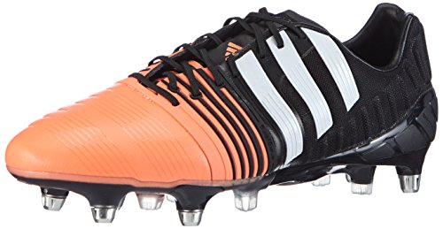 Adidas Chip (adidas Performance Nitrocharge 1.0 SG, Herren Fußballschuhe, Mehrfarbig (Core Black/FTWR White/Flash Orange S15), 42 2/3 EU (8.5 Herren UK))