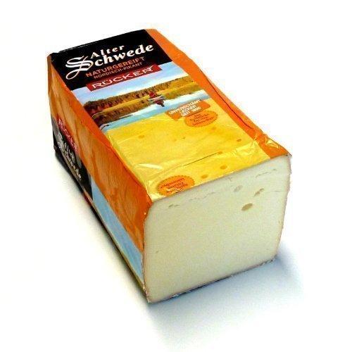 Alter Schwede kräftiger pikanter Käse aus Mecklenburg mit Rotschmiere 500g