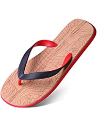 90e24229ee5879 Hausschuhe HUYP Flip-Flops Herren Sommer Sandalen Rutschfeste Wohnung Mit  Flip Füße Sandalen Strand Schuhe