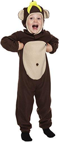 Kleinkind Affe Kostüm Alter 3 Jahre (Affen Kostüm Kleinkind)