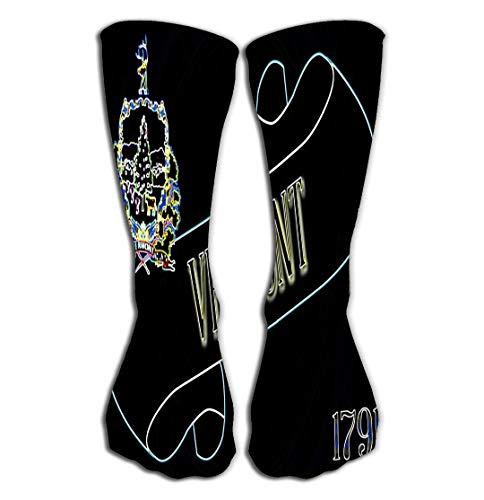 zexuandiy Hohe Socken Socks Women Men's Luxury Cotton Colorful Cool Fun Socks 19.7