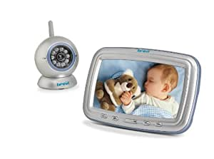 """Brevi 393 Baby Monitor Angelino 7"""" con Video Baby Monitor 2.4 GHz"""