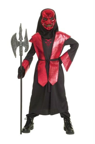 Paper Magic Group Demons of Metal Warlord-3 Boy's Costume, Large 10-12