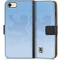 Apple iPhone 8 Tasche Leder Flip Case Hülle TSV 1860 Muenchen Fan Article Merchandise Fanartikel Merchandise