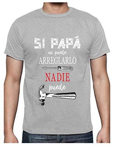 84f2a3a9265 Green Turtle Camiseta para Hombre - Si Papá no Puede Nadie Puede - para  Papá en