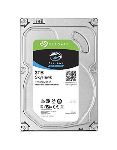 Preisvergleich Produktbild Seagate ST3000VX010 SkyHawk 3 TB interne Video Festplatte (8, 89 cm (3, 5 Zoll) 64 MB Cache,  Sata 6 Gb / s)