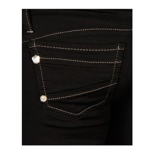 Cipo & Baxx Damen Jeans CBW-0313 Black