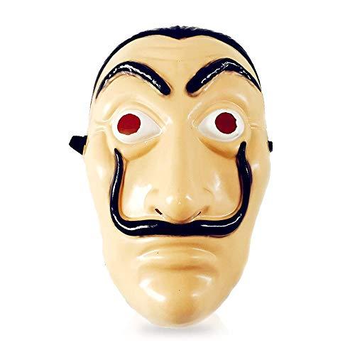 FOONEE hässliche Gesichtsmaske, die Original Heist Geld Maske, La Casa De Papel Dance PVC Maske für Halloween Party lustige Kostüme. (Halloween-kostüme Alte Tv-shows)
