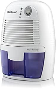 Pro Breeze 500ml Compact and Portable Mini Air Dehumidifier for Damp, Mould, Moisture in Home, Kitchen, Bedroom, Caravan, Office, Garage