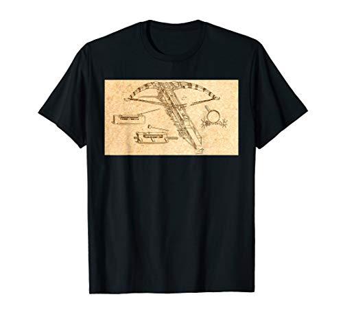 Leonardo Da Vinci Wundervolle Maschine - Armbrust Vintage T-Shirt