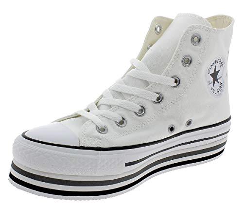 CTAS Platform Layer HI Zapatos Deportivos Mujer Blanco
