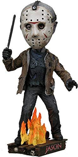Unbekannt Freitag der 13 - Head Knocker Wackelkopf Figur - Actionfigur - Jason Voorhees - 18 cm