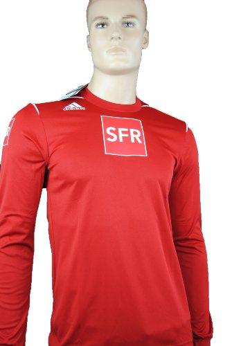 adidas-trivela-trikot-warmup-shirt-rot-langarm-sfr-fussball-aufwarmshirt-xl