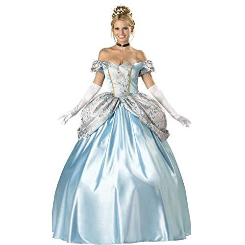 (Shisky Halloween kostüm Damen, Halloween Prinzessin Kostüm Gericht Kostüm Cosplay einheitlichen Thema Party Kostüm)