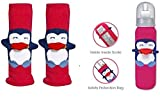 #8: Cheesy Cheeks Penguin Bottle Safety Protection Cover Bag 2pcs(Color May Very)