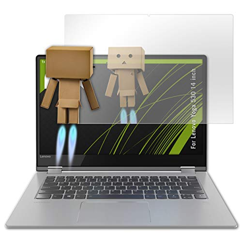 atFolix Bildschirmfolie kompatibel mit Lenovo Yoga 530 14 inch Spiegelfolie, Spiegeleffekt FX Schutzfolie