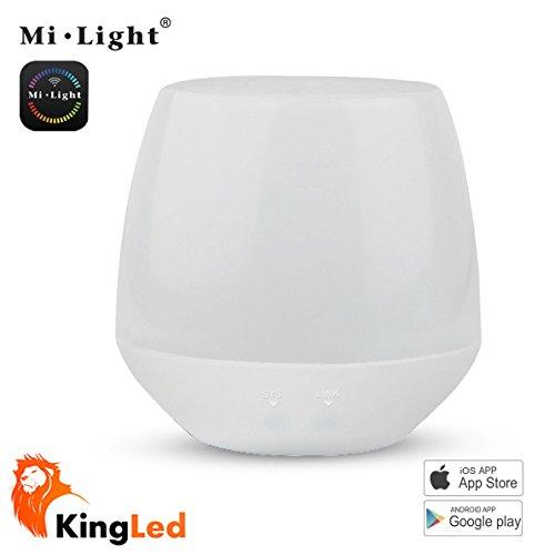KingLed - Modulo iBox, Modulo Wi-Fi di Controllo per Ricevitori e Bulbo, 2W di Consumo, Voltaggio 5V, Amperaggio 500 mA, Compatibile con Tutti i Prodotti della Serie MiLight da 2.4GHZ, Dimensioni 70 x 68 mm, cod. 2194