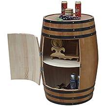 HQCC Enfriador de Vino en barrica de Roble, Barril de Cerveza Decorado en Barra,